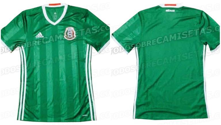 Así luciría la próxima camiseta de la Selección Mexicana