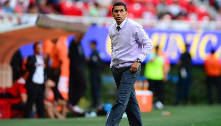 Ramón Morales, durante juego de Chivas