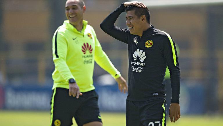Churpias Moreno durante un entrenamiento