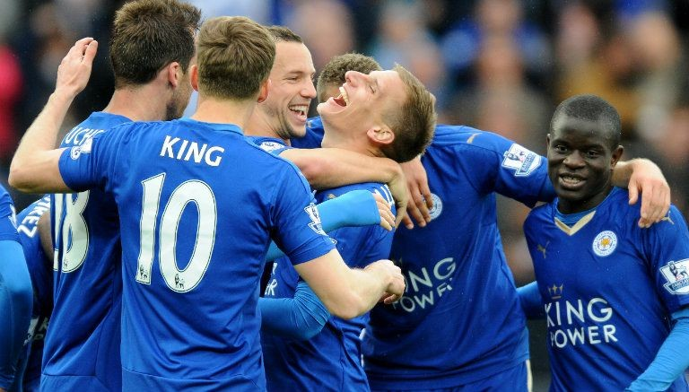 La comunión del Leicester como emblema del éxito