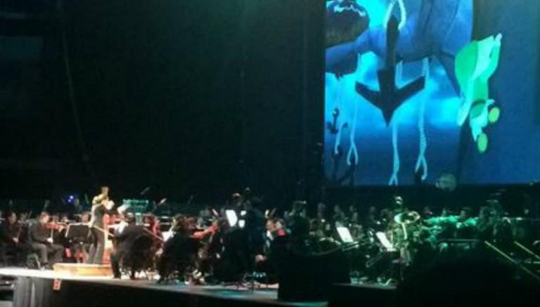 La Orquesta interpretando los temas de Zelda