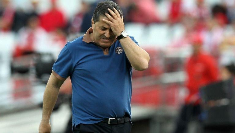 El exentrenador de Porto, José Peseiro, durante la Final de la Copa de Portugal