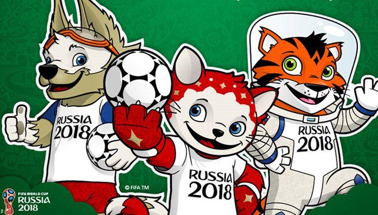 Resultado de imagen para candidatos mascota rusia 2018