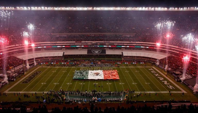 NFL habría violado ley sobre bandera nacional en México