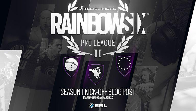 El segundo año de la Liga Profesional de Rainbow Six está por comenzar