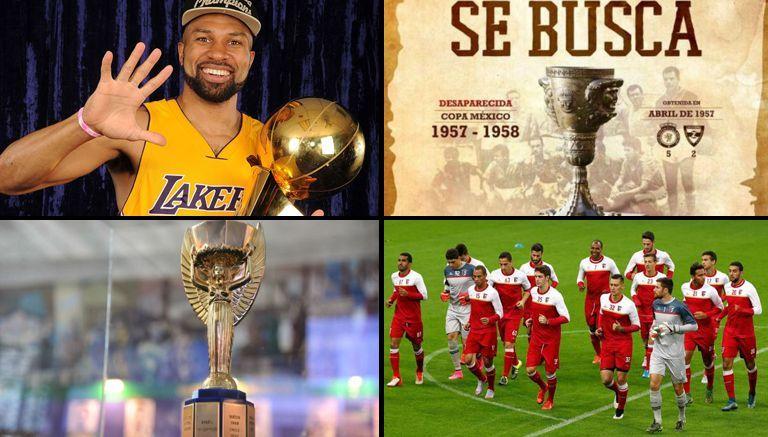 Objetos que fueron hurtados a lo largo de la historia del deporte