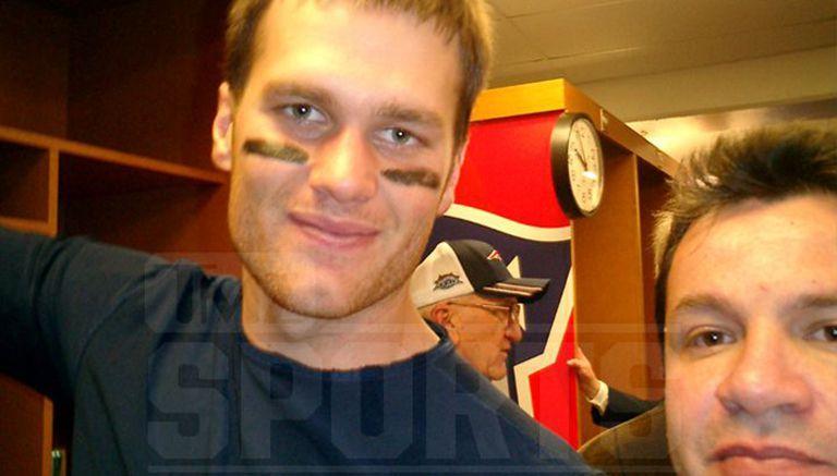 Selfie de Brady con Ortega, obtenida por TMZ