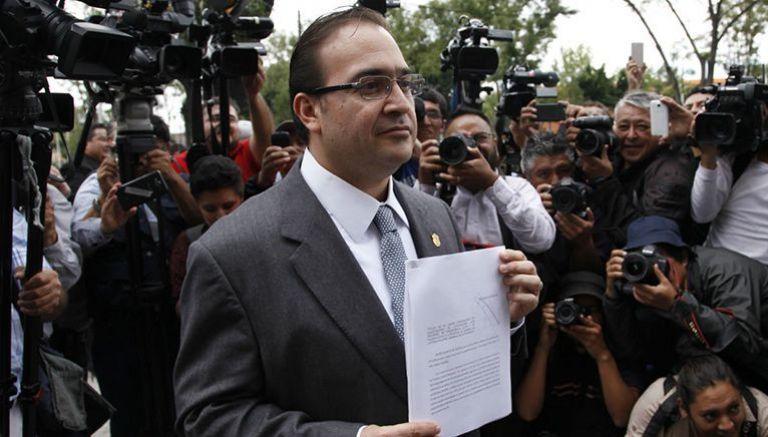 Duarte, durante su defensa en la Ciudad de México