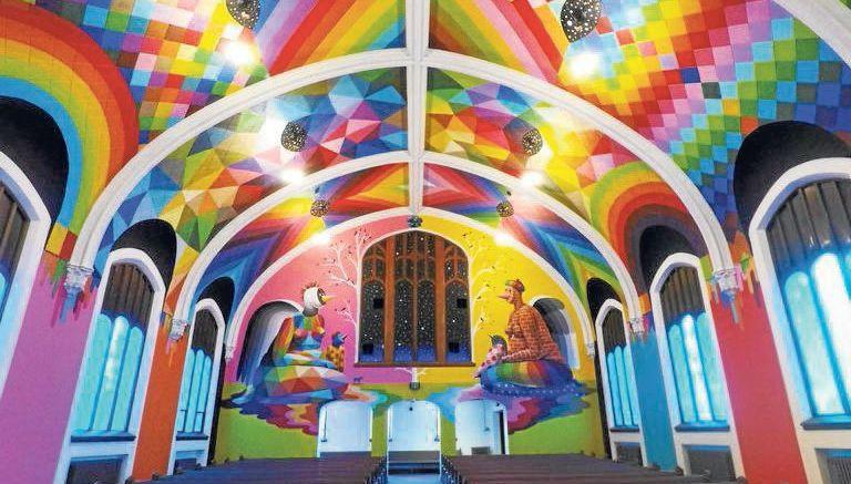Así luce la iglesia de la marihuana