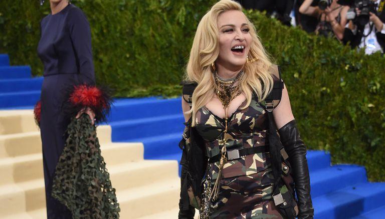 Madonna asiste a la gala del Met