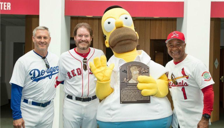 Homero Simpson, nuevo miembro del Hall of Fame de la MLB