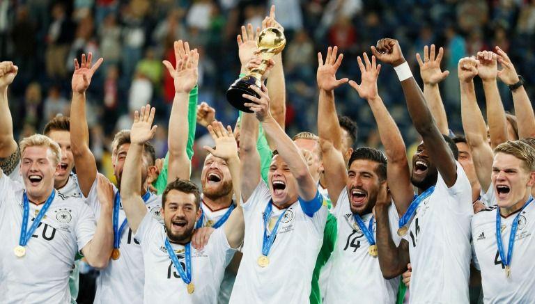 Resultado de imagen para Alemania, campeón de la Confederaciones 2017