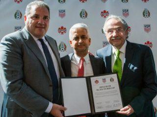 CONCACAF presenta candidatura para Mundial 2026