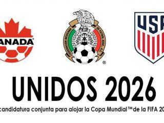 México, Estados Unidos y Canadá comparten candidatura para el Mundial de 2026