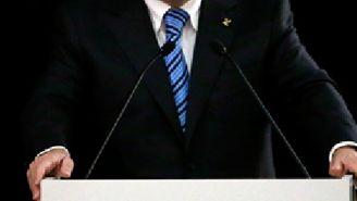 Thomas Bach durante una conferencia de prensa