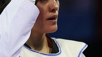María Espinoza, en un duelo en los Panamericanos de Toronto 2015