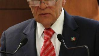 Carlos Padilla en conferencia de prensa