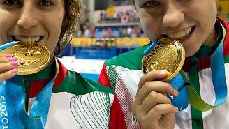 Paola Espinosa y Dolores Hernández, medallistas de oro en los Juegos Panamericanos Toronto 2015