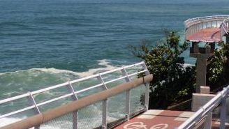 Parte de la ciclovía que se desplomó en Río de Janeiro