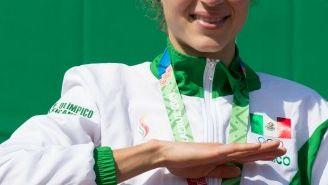 Daniela Campuzano, medallista en los Juegos Centroamericanos