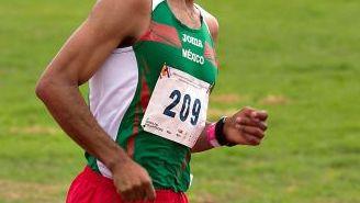 Juan Luis Barrios, durante una competencia