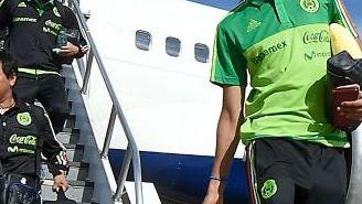 Diego Reyes a su llegada a California