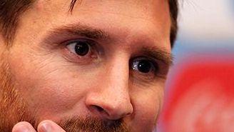 Lionel Messi, en conferencia de prensa