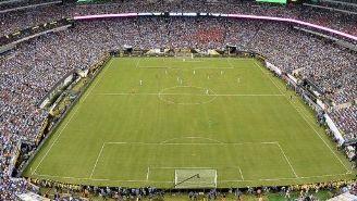 Panorámica del MetLife Stadium durante la Final de la Copa América