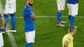 La selección italiana se lamenta tras caer con Alemania en penaltis
