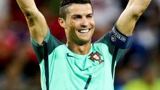 CR7 celebra el pase de Portugal a la Final de la Euro 2016