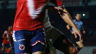 Javier Orozco, durante el duelo de la J3 contra Toluca