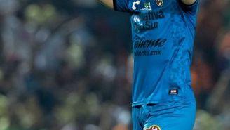 Muñoz grita el gol de Jaguares