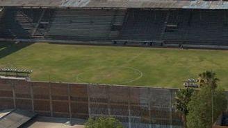 Estadio de La Martinica visto desde una toma aérea