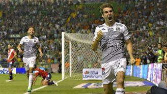 Boselli grita su gol contra el Veracruz
