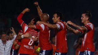 Veracruz festeja con euforia el gol de Ángel Reyna