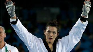 María del Rosario Espinoza celebra triunfo en Río 2016