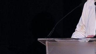 Enrique Bonilla, durante conferencia de prensa