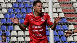 Mauro Laínez, durante un partido de Mineros