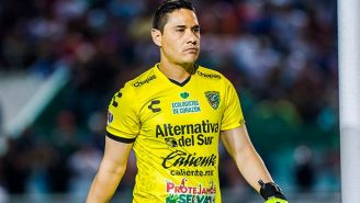 Moisés Muñoz, en un partido con los Jaguares de Chiapas