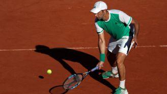 Santiago González durante la Final de Roland Garros