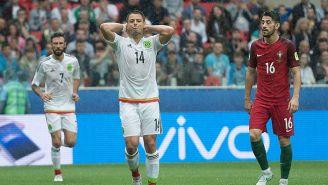 Javier Hernández lamenta una jugado con México