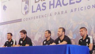 Directivos y jugadores participaron en la conferencia