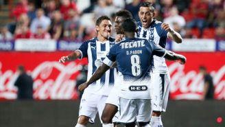 Avilés Hurtado celebra uno de sus goles contra Xolos
