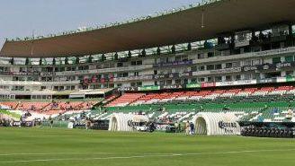 Estadio León, previo al encuentro contra Cruz Azul