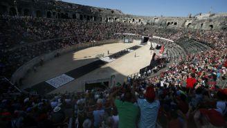El inicio de La Vuelta a España en Nimes