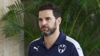 Duilio Davino, en su llegada al Draft del futbol mexicano