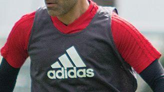 Rafael Márquez en un entrenamiento