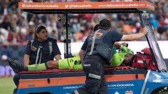 Pedro Gallese sale lesionado del duelo contra Pachuca