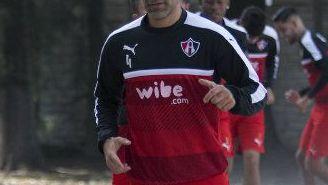 Rafa Márquez, durante la pretemporada con Atlas
