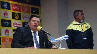 Miguel Herrera, en conferencia de prensa posterior al juego contra Tigres